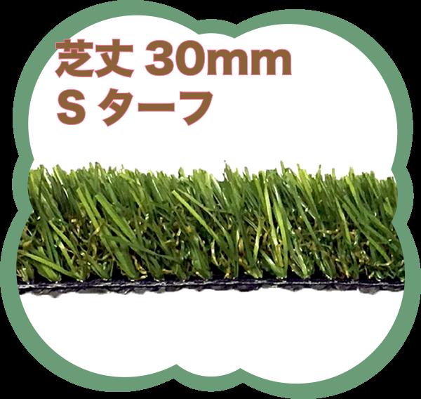 芝丈30mmSターフ